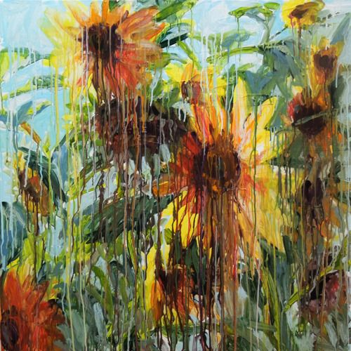 sunflowers by Chrissy Angliker