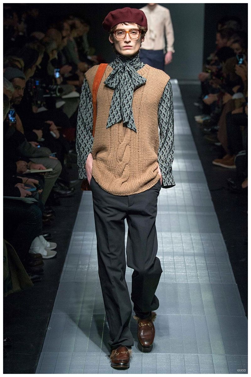To acquire Mens gucci fall runway picture trends