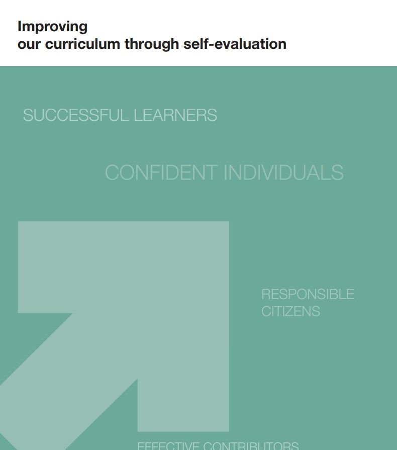 Improving our curriculum through self-evaluation HMIe Pinterest