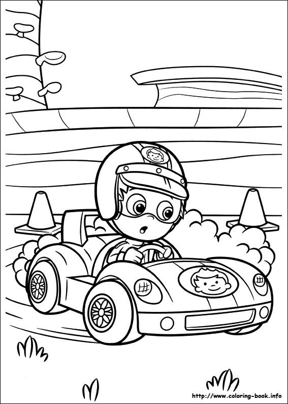 Bubble Guppies coloring picture   Coloring and Activities ...