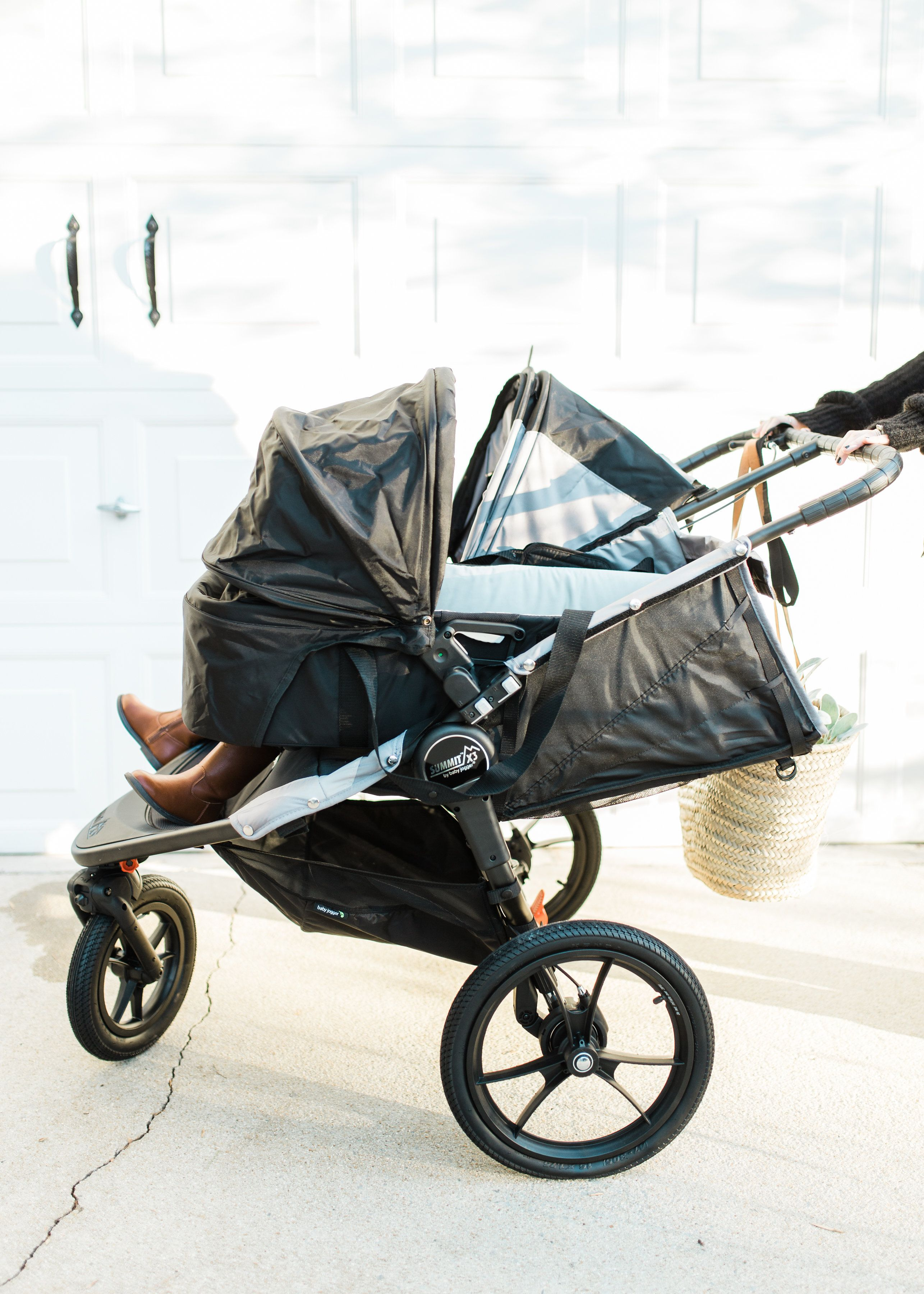 Baby Jogger Summit X3 Double Stroller Review Motherhood