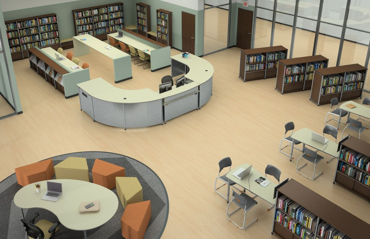 Paragon Information Commons Library Space #informationcommons Paragoninc.com