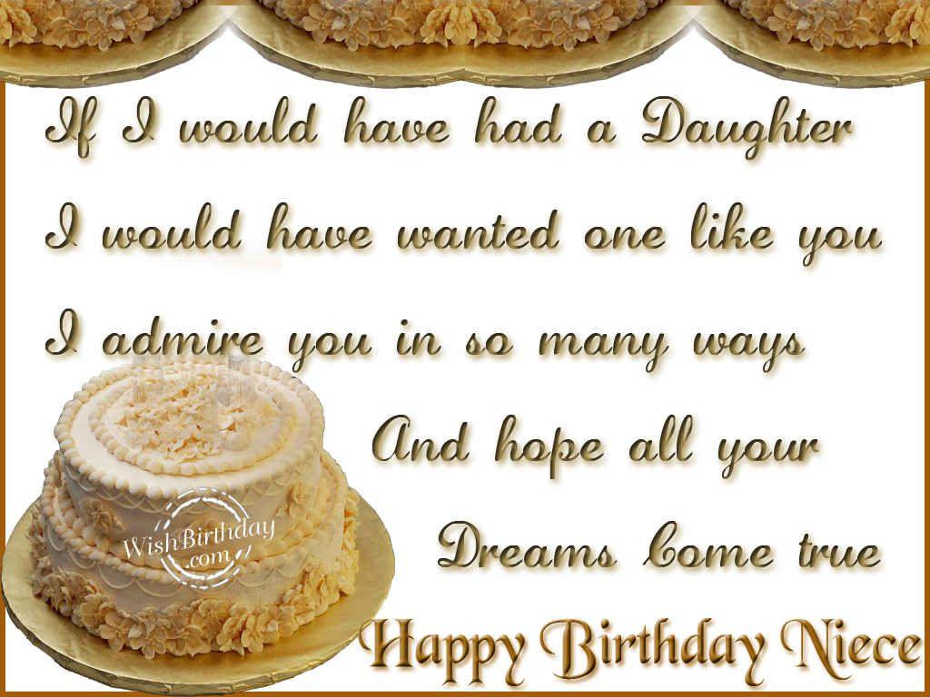 Wishing you a very happy birthday niece wishbirthday cards wishing you a very happy birthday niece kristyandbryce Choice Image