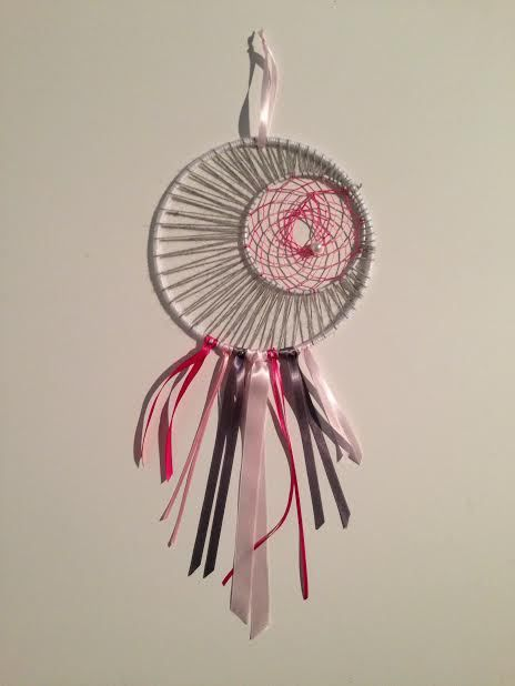Tuto dream catcher ou attrape r ves diy dream catchers catcher and crochet - Diy attrape reve ...