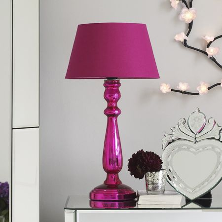 Office Cubicles · Pink Lamp