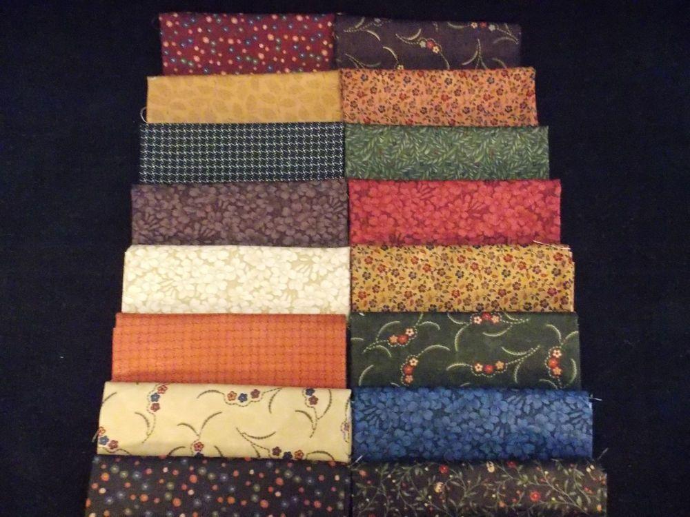 Kansas Troubles Assorted 21 Fat Quarter FQ  Bundle Quilt Fabric Moda Fabrics