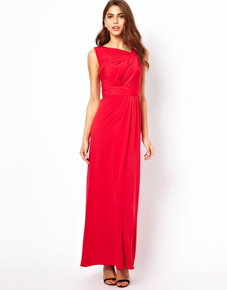 coast-red-leighton-maxi-dress-in-jersey-product- | Red Maxi Dress ...