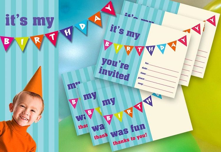 Green Birthday Invitation Card Maker
