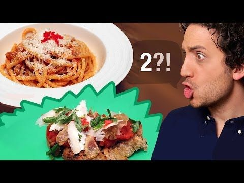 Italian Bucatini Amatriciana : Classic & Twisted - YouTube
