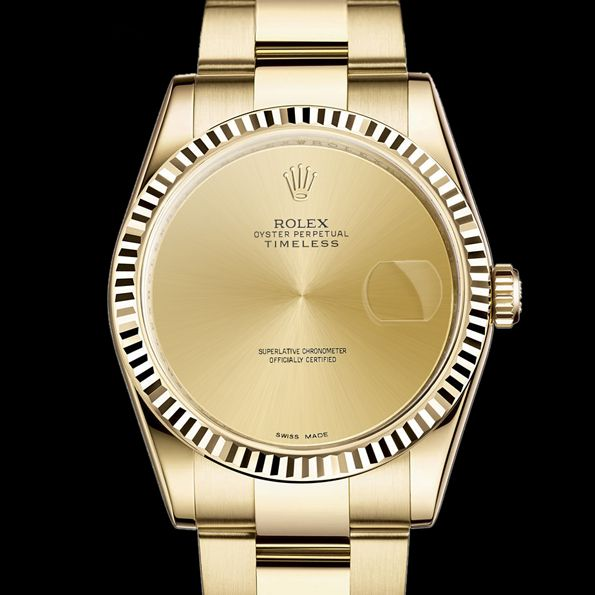 #TOTB -- A unique #Rolex Oyster Perpetual timeless by #Fremdkoerper