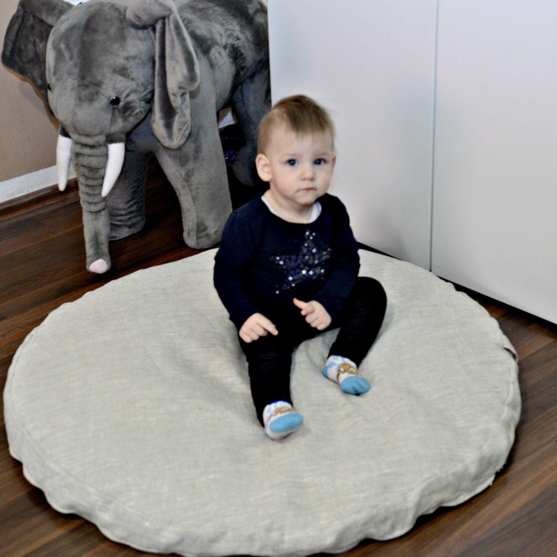 floor pillow baby play mat round