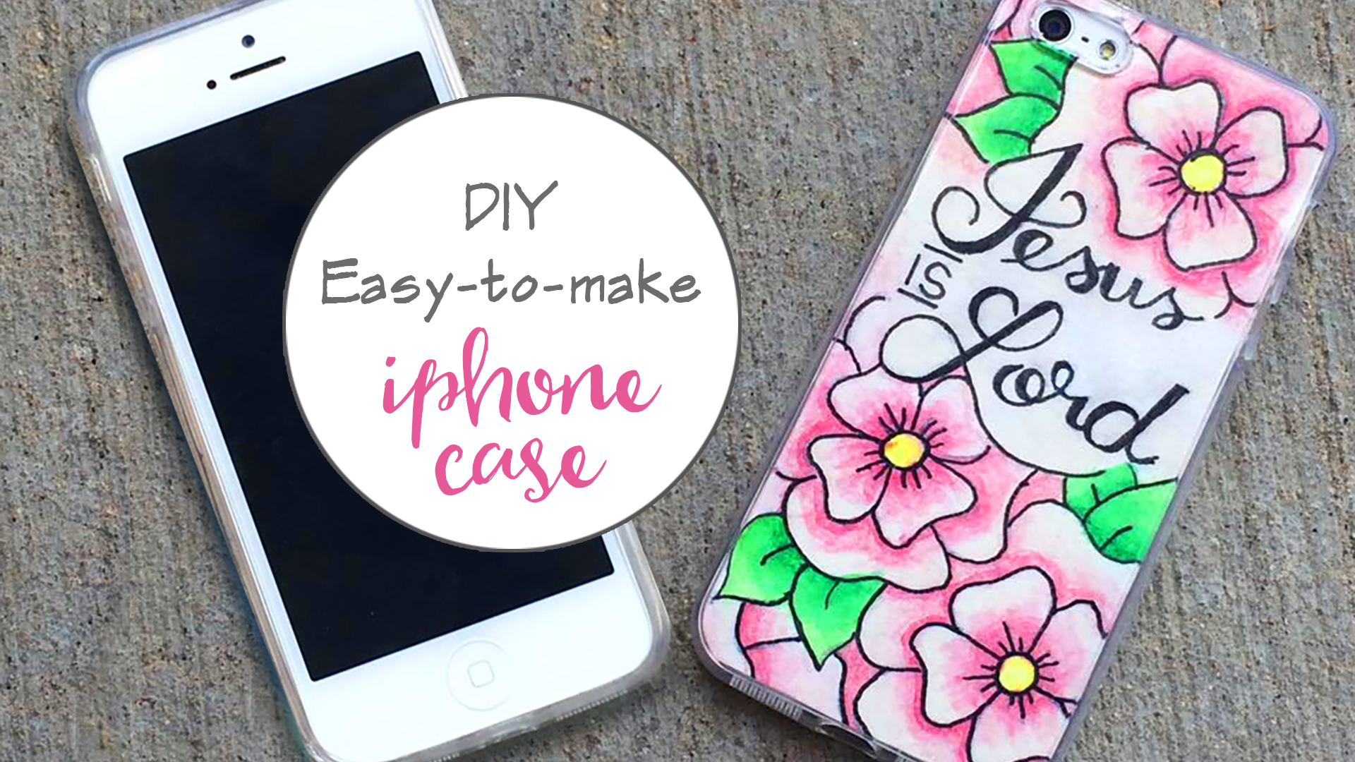 A really simple tutorial for a DIY iPhone cover. Customize it the way you want!