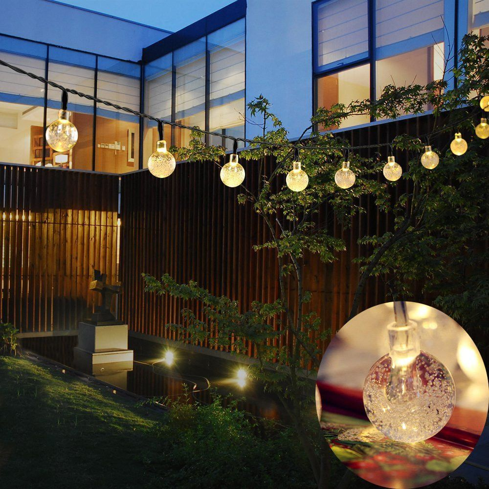 Kmashi 6m 30led crystal ball led string solar panels waterproof kmashi 6m 30led crystal ball led string solar panels waterproof outdoor lighting string fairy light garden lights solar lamp affiliate mozeypictures Image collections