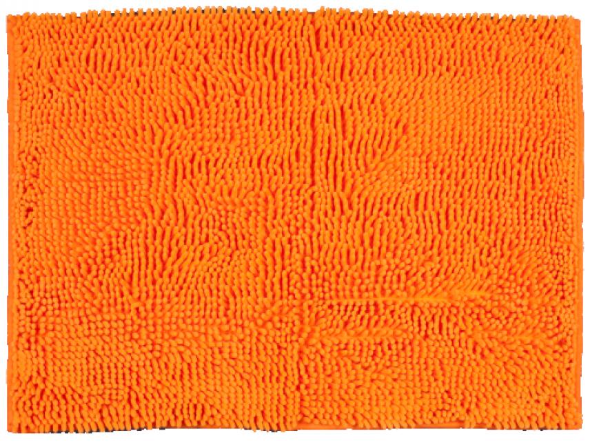 Alfombra De Ba O Vanesa Naranja Revitex Textil Hogar