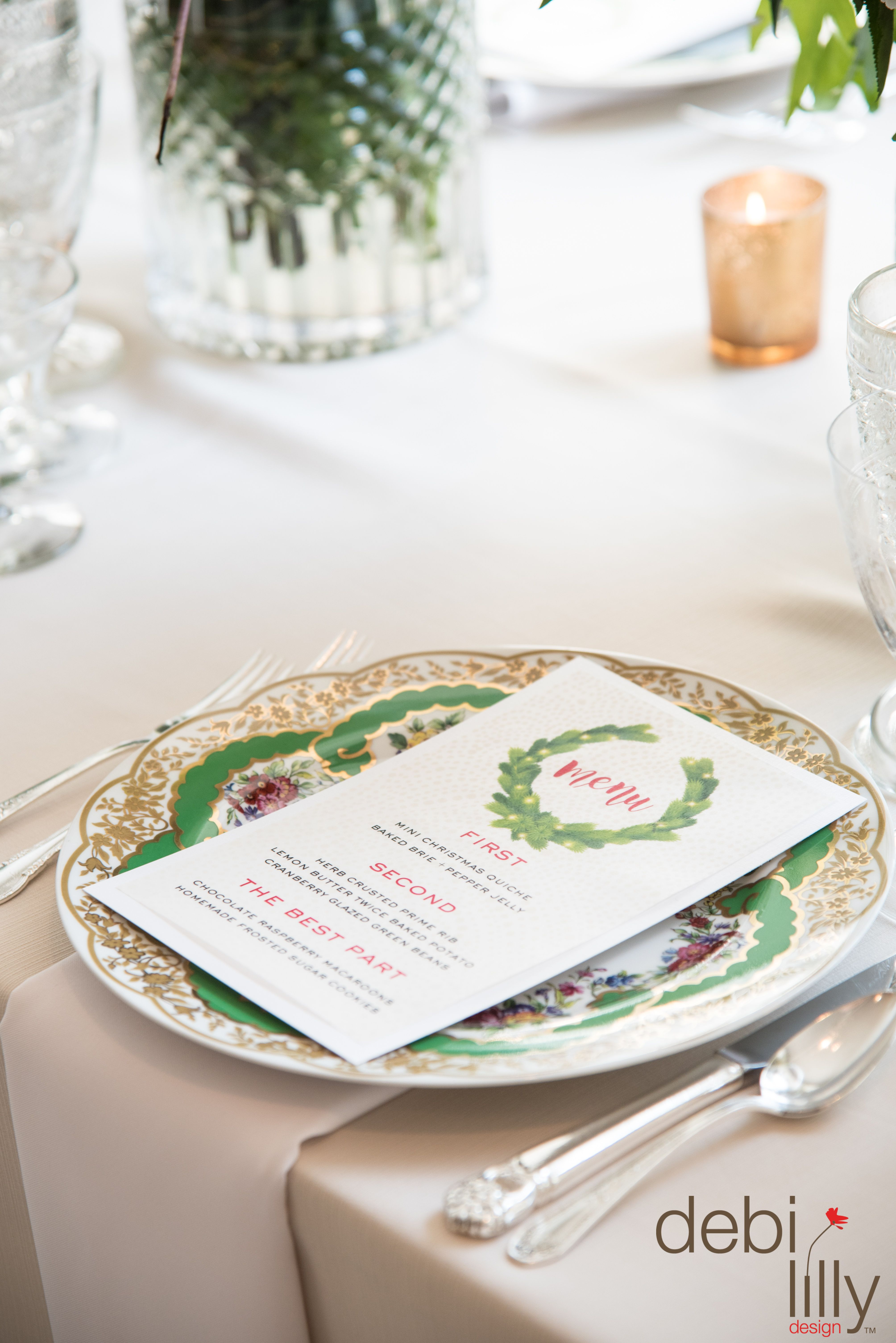What\'s on your holiday menu? Use this adorable debi lilly design ...