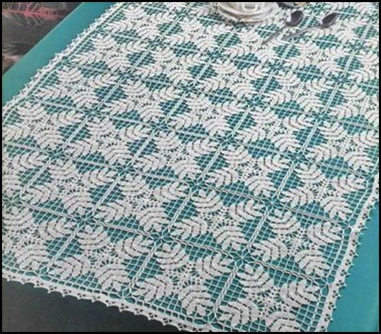Patrones de manteles cuadrados a crochet imagui padron - Manteles de lino ...