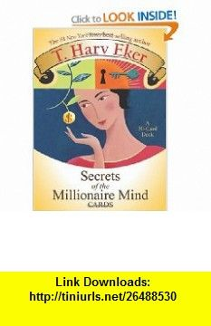 Secrets Of The Millionaire Mind Cards 9781401910570 T Harv Eker