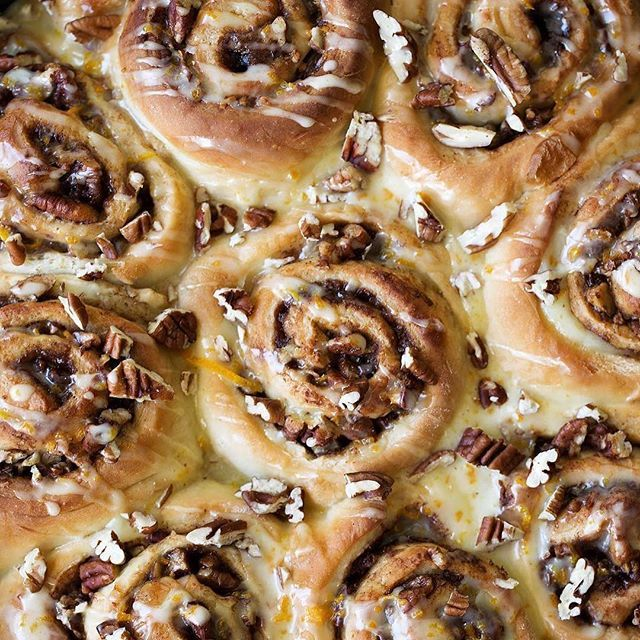 Fun fact: @cookingwithcocktailrings' orange pecan sticky buns are so good, she accidentally ate 3 in one sitting.⠀  ⠀  Share your comfort food, guilty pleasure, wins, fails, whatever with #MyPinterest.