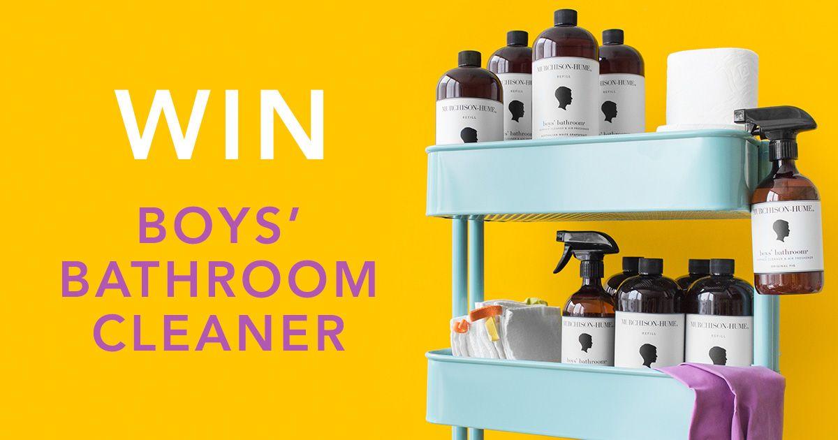 Murchison Hume Boysu0027 Bathroom Cleaner Will Brightens Any Bathroom, Even  They Boysu0027