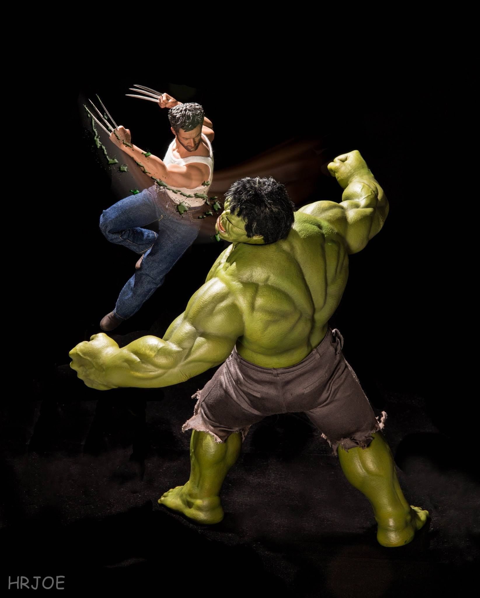 #Hulk #Fan #Art. (The Secret Life Of Superhero Toys) By Edy Hardjo aka HrJoe. ÅWESOMENESS!!!™ ÅÅÅ+
