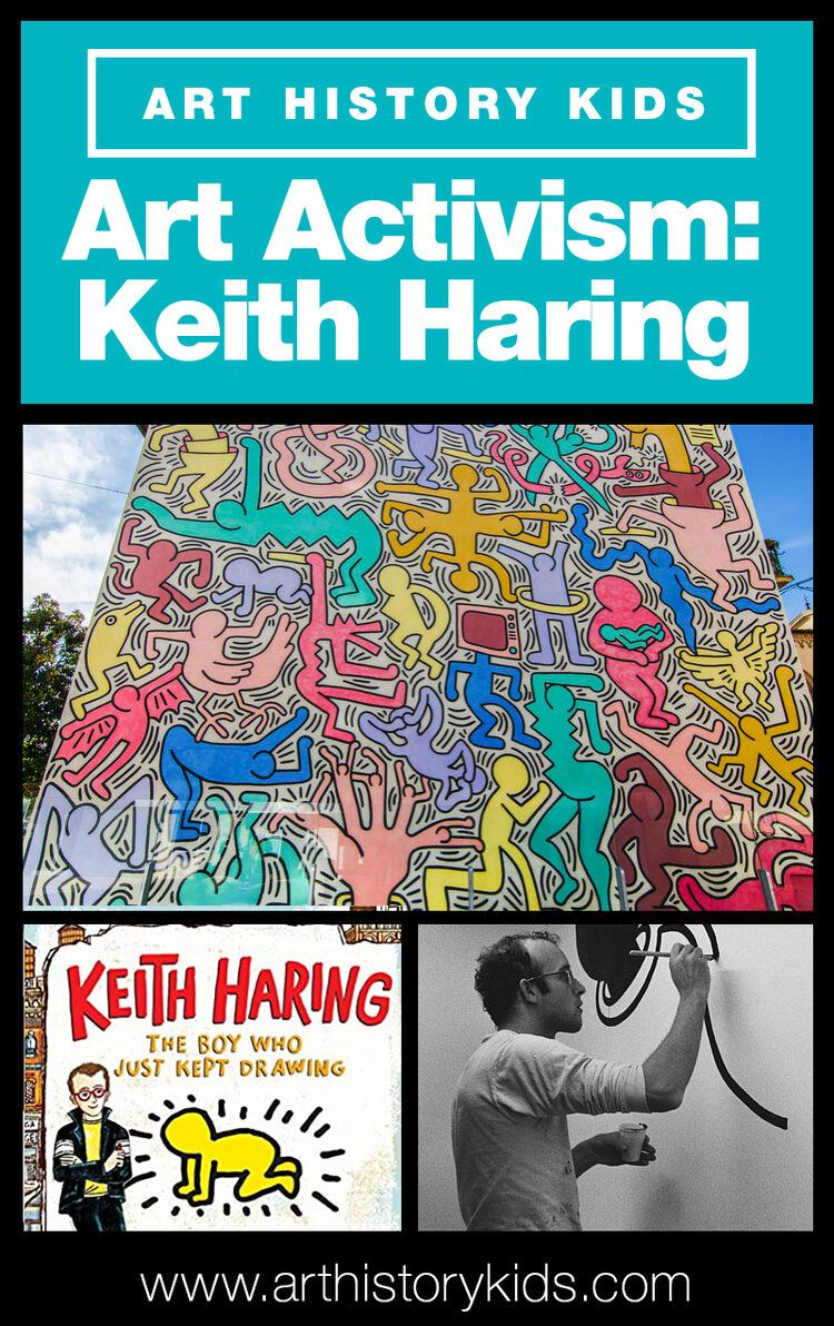 Photo of Art Activism: Keith Haring — Art History Kids