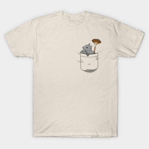 c4864324a PeaPod The Pocket Squirrel - Bob Ross - T-Shirt | TeePublic | Hair ...