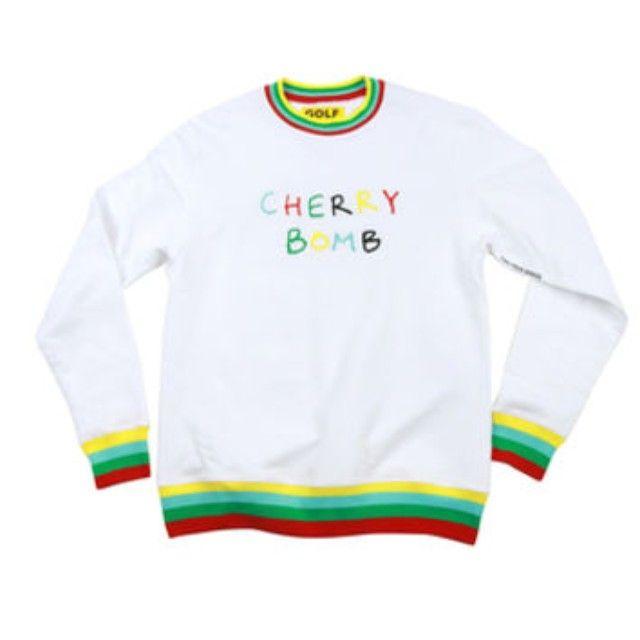 6ec137ce7b25 Cherry Bomb Sweater Golfwang Sweaters Tyler The Creator
