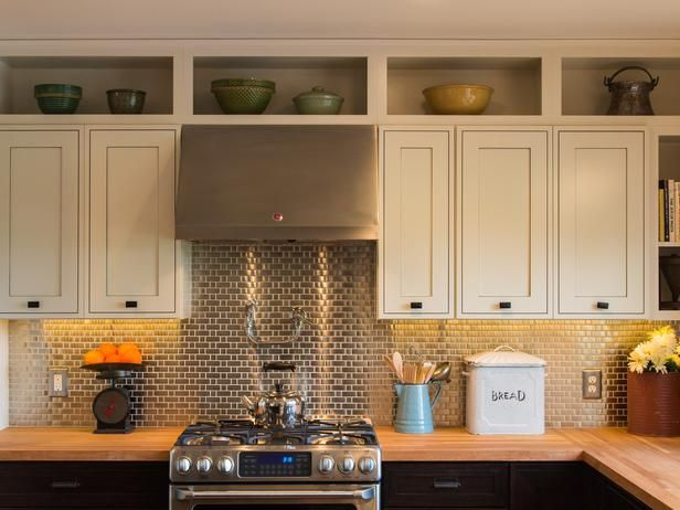 Kitchen Cabinets May Want To Add The Open Shelves Above The