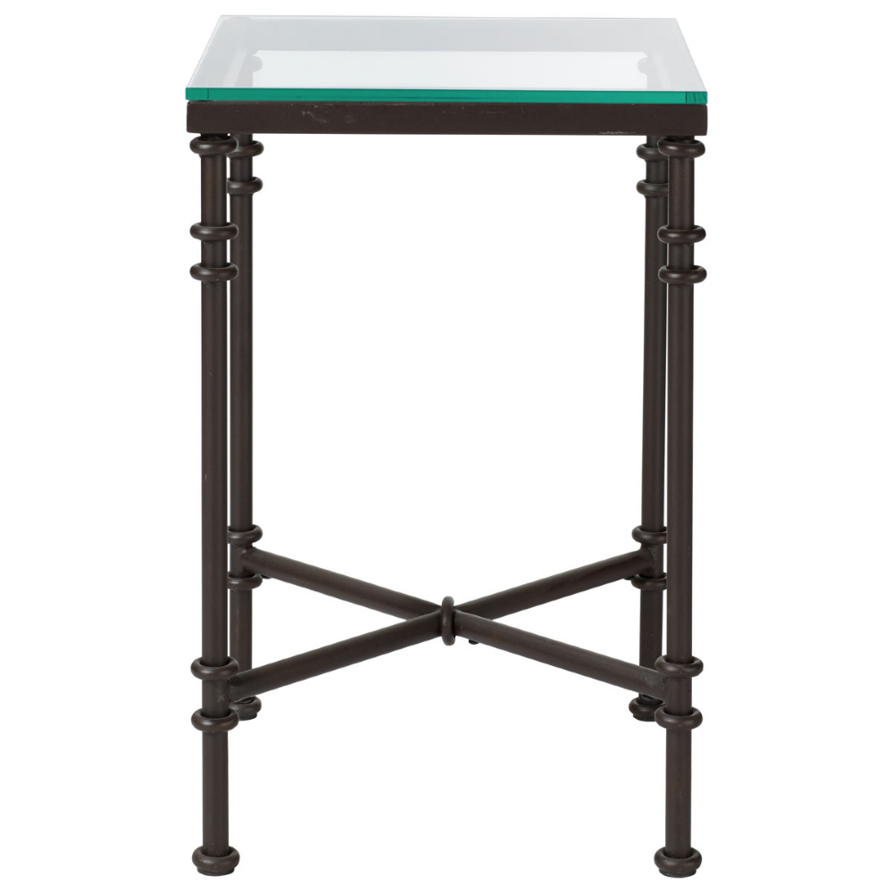 Pompidou Side Table In 2020 Small Glass Side Table Metal Side Table Table