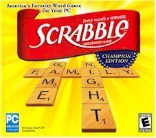 High Quality Encore Scrabble Champion Edition Game Board