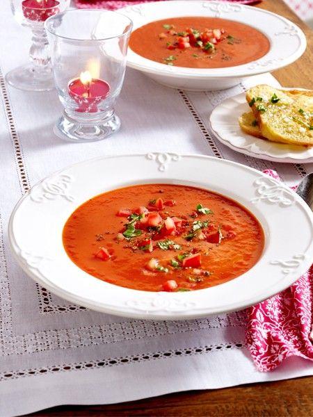 abnehmen mit fatburner suppen abnehmen pinterest suppen tomatensuppe und suppen rezepte. Black Bedroom Furniture Sets. Home Design Ideas