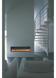 Wood Product range Chazelles Fireplaces Ultra modern and slim