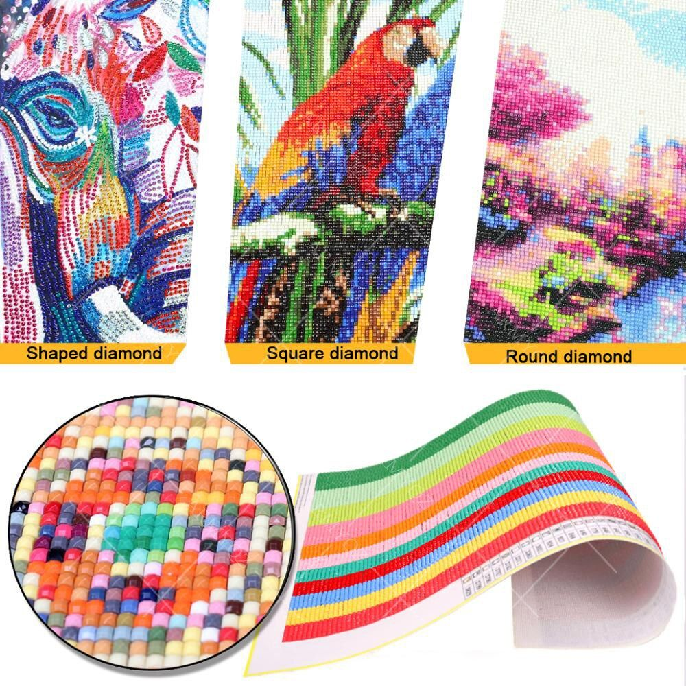 5D DIY Full Drill Diamond Painting Embroidery Cross Stitch Mosaic Craft Art Deco