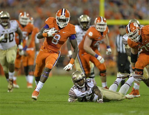 RISING TIGERS: Clemson replaces Ohio State as AP poll No. 1