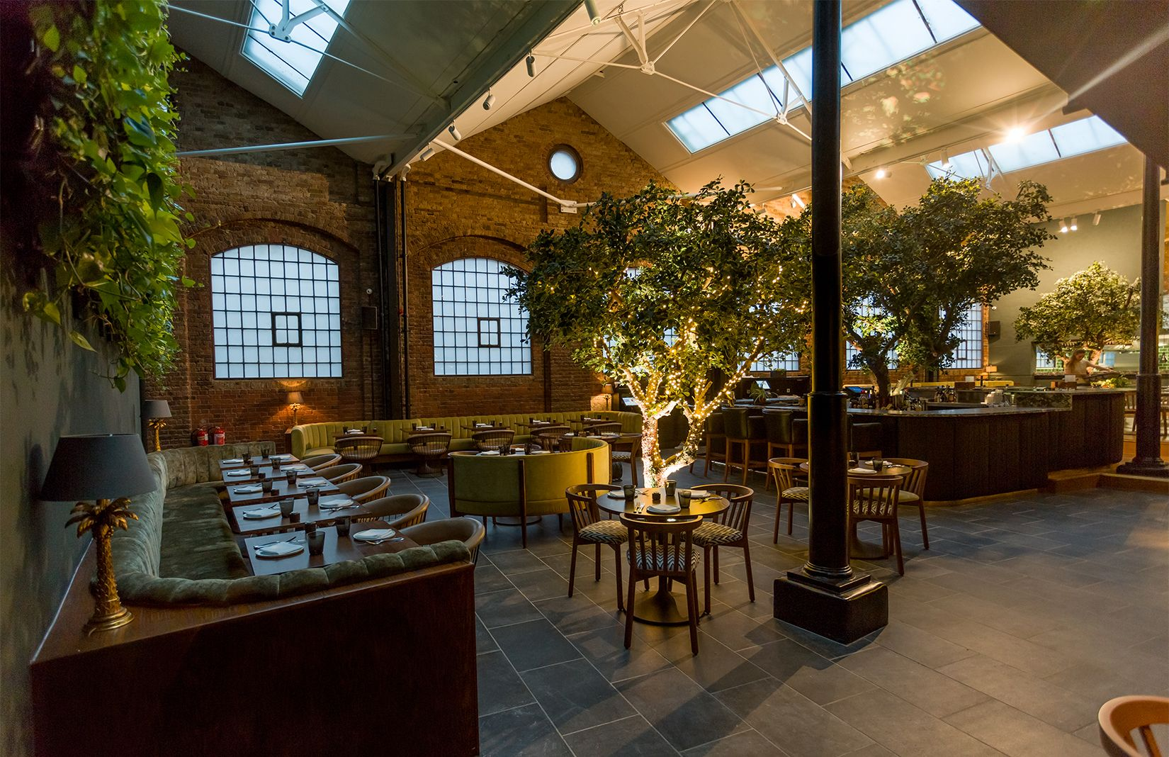 Greenery Filled Restaurant Ours Opens In London S Kensington