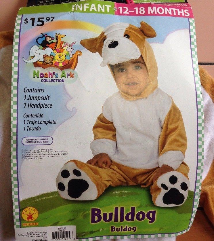Noah\u0027s Ark 2 Piece Bulldog Jumpsuit Halloween Costume Size 12/18 - 18 month halloween costume ideas