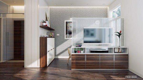 Sleek modern kitchen design wooden floor chic contemporary spaces
