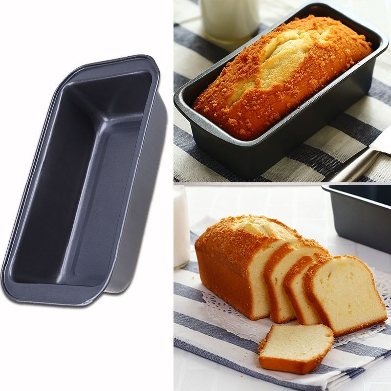 25x13cm Diy Cake Toast Loaf Baking Pan Tray Rectangle Ovenware Non