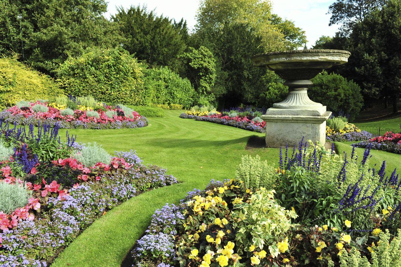 Decoraci n de jardines de casas de campo jardines - Jardines en casas de campo ...