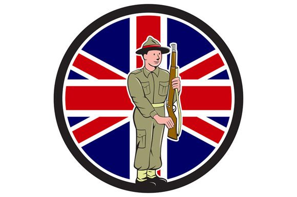 British World War II Soldier  by patrimonio on @creativemarket