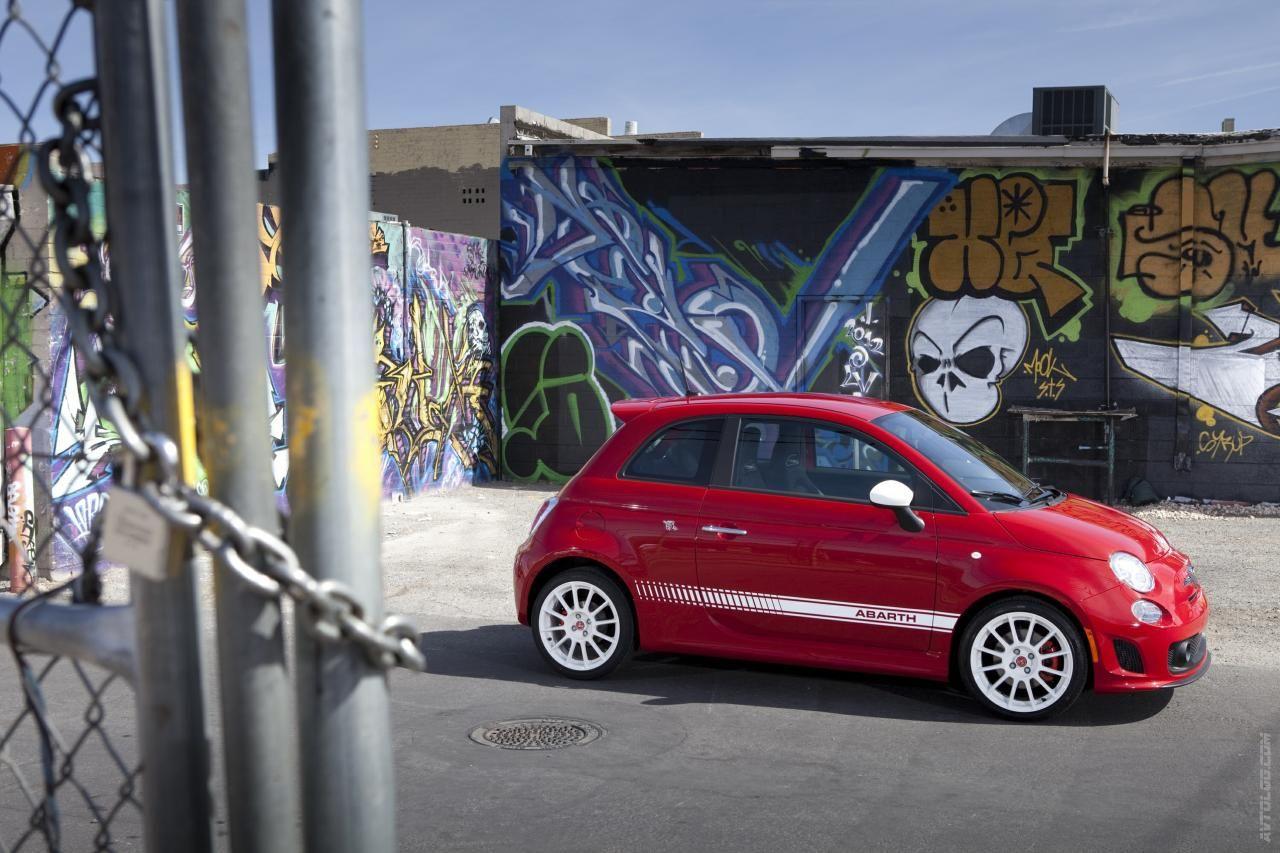 2012 Fiat 500 Abarth Cabrio