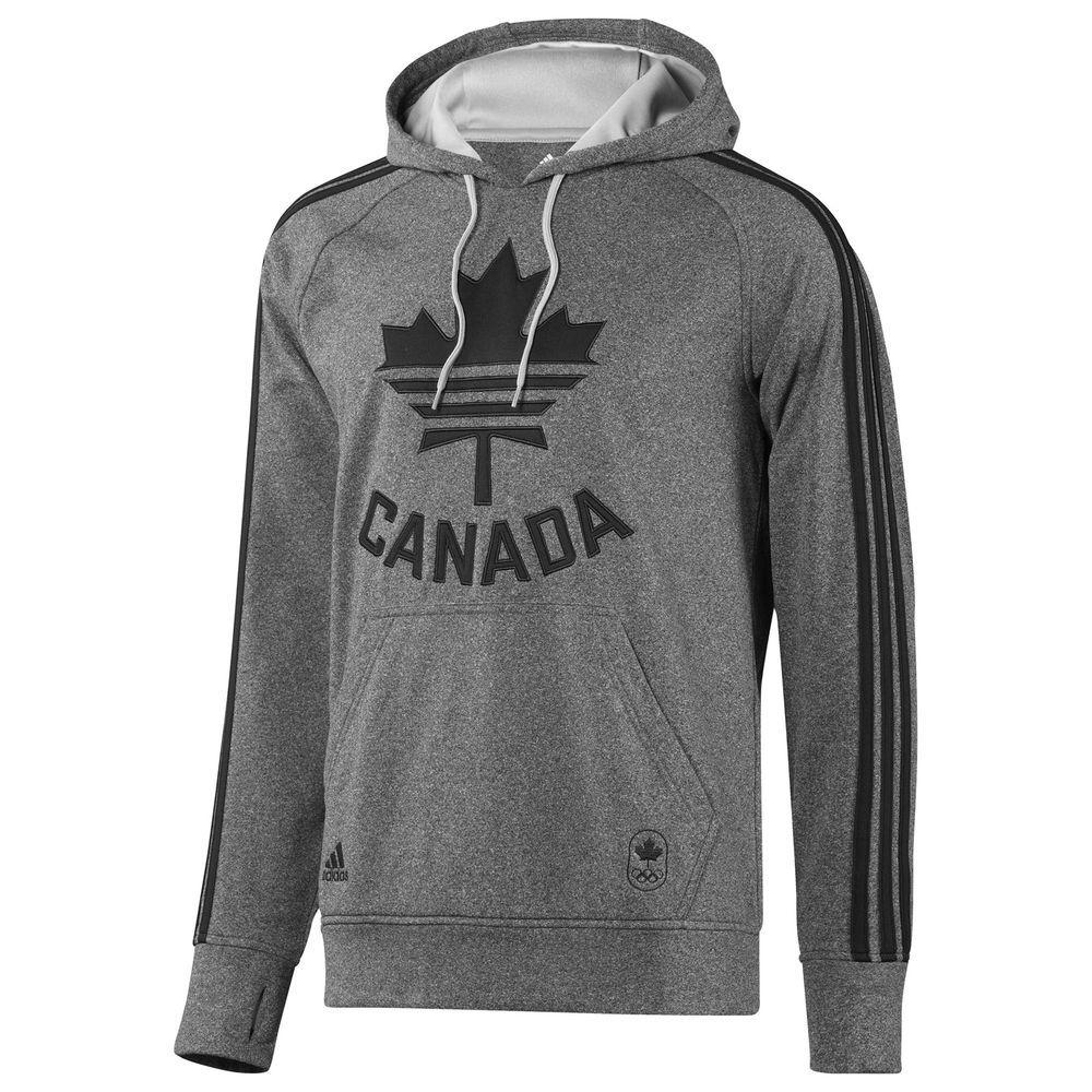 Adidas Canadian Olympic logo Ultimate Fleece P / o sudadera con capucha adidas