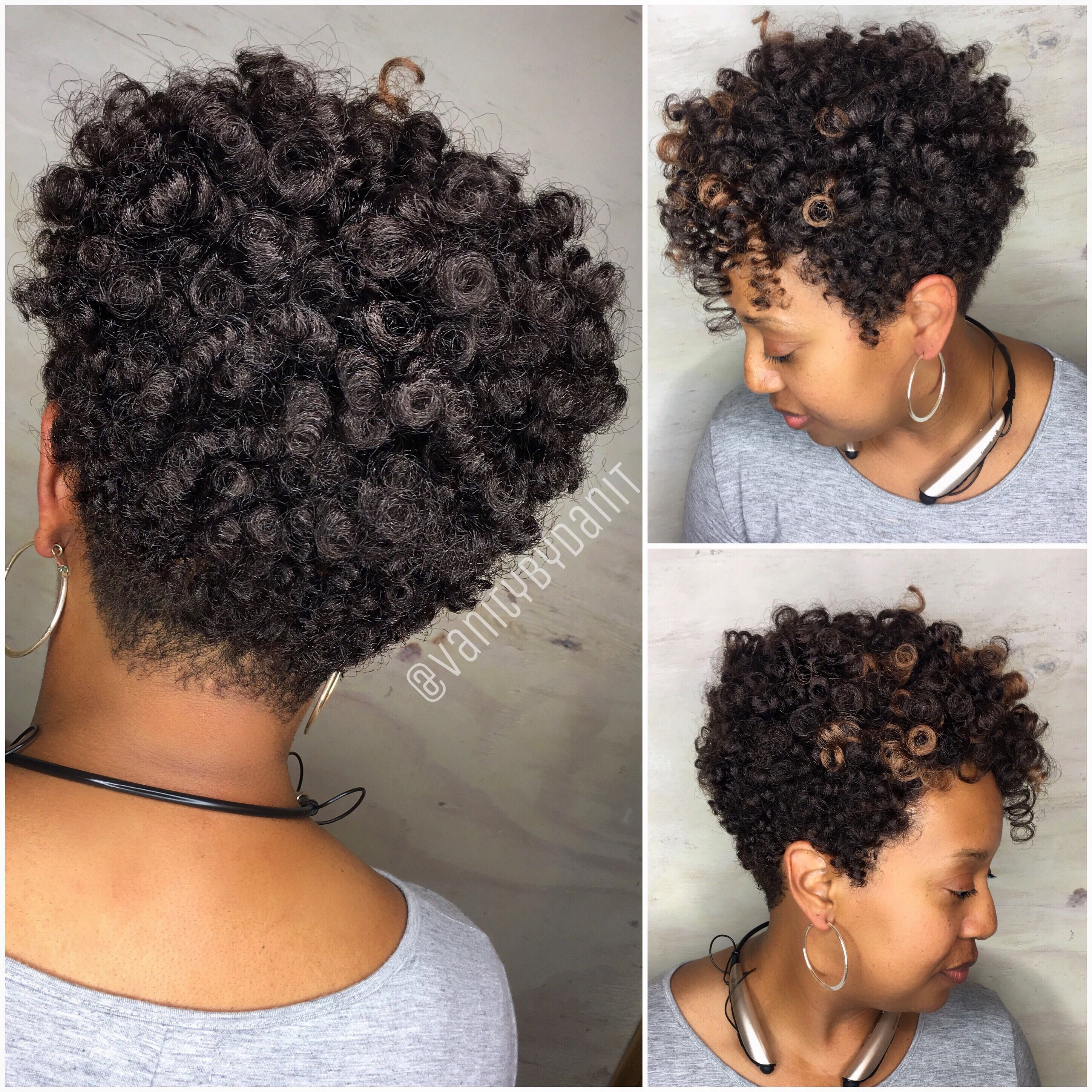 Crochet braids tapered cut by vanitybydanit using curlkalon Carrie