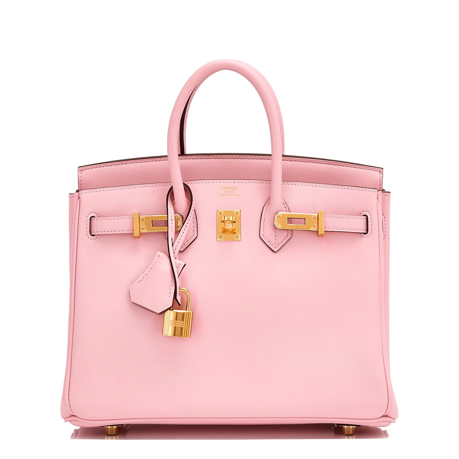 Hermes Birkin Bag Rose Sakura Swift Gold Hardware