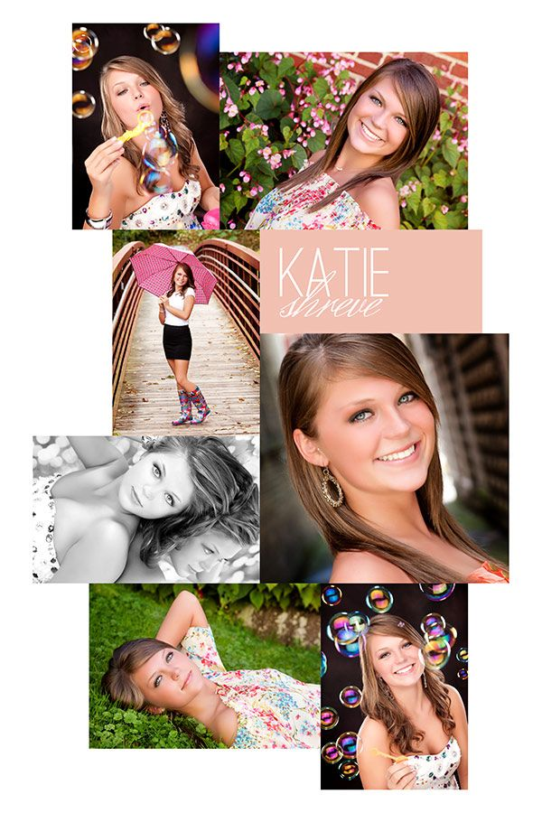 Senior Collage photography by Beth Forester Photography-Template by ...