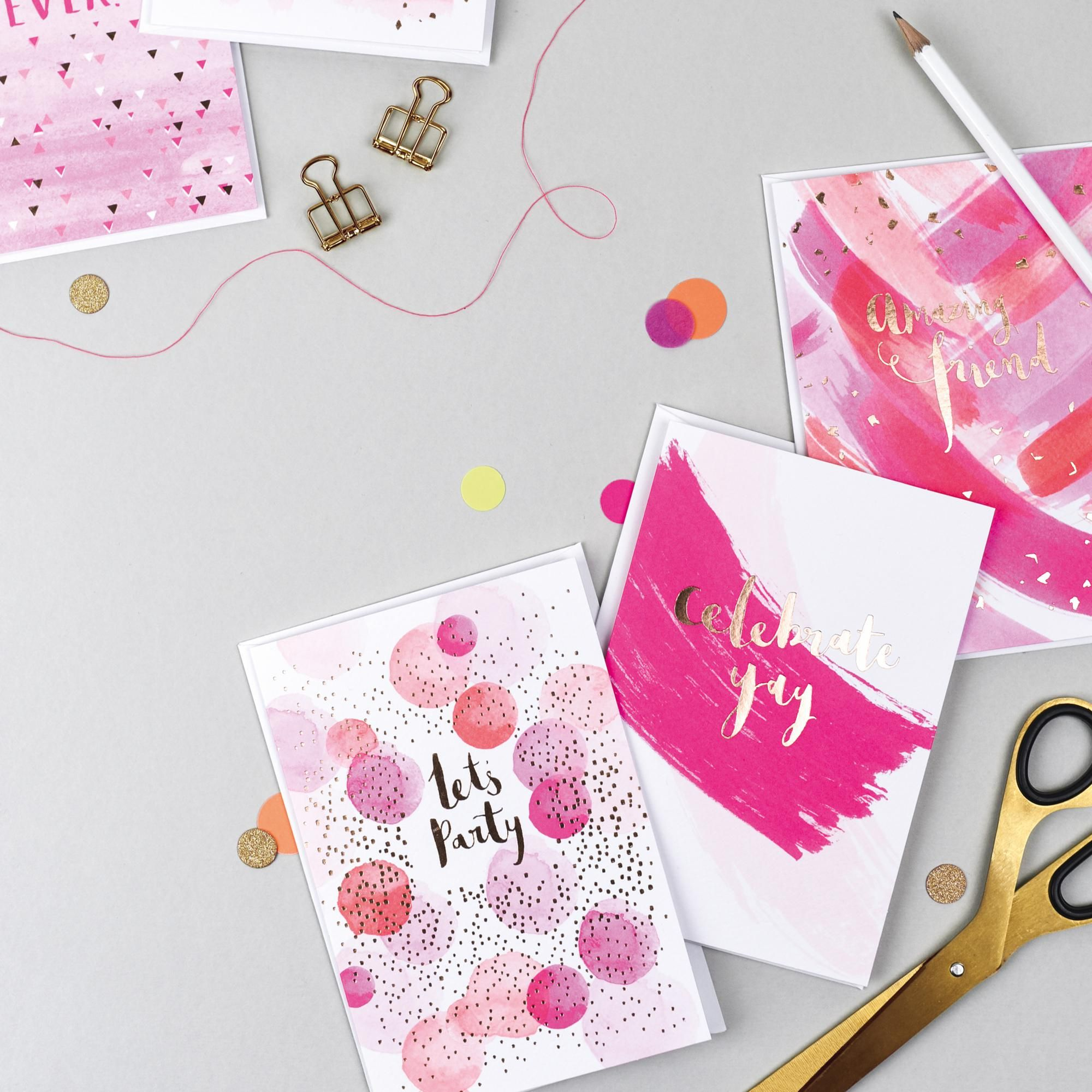 Hello Neon Cards By Anna Price For Hotchpotch London Card Making