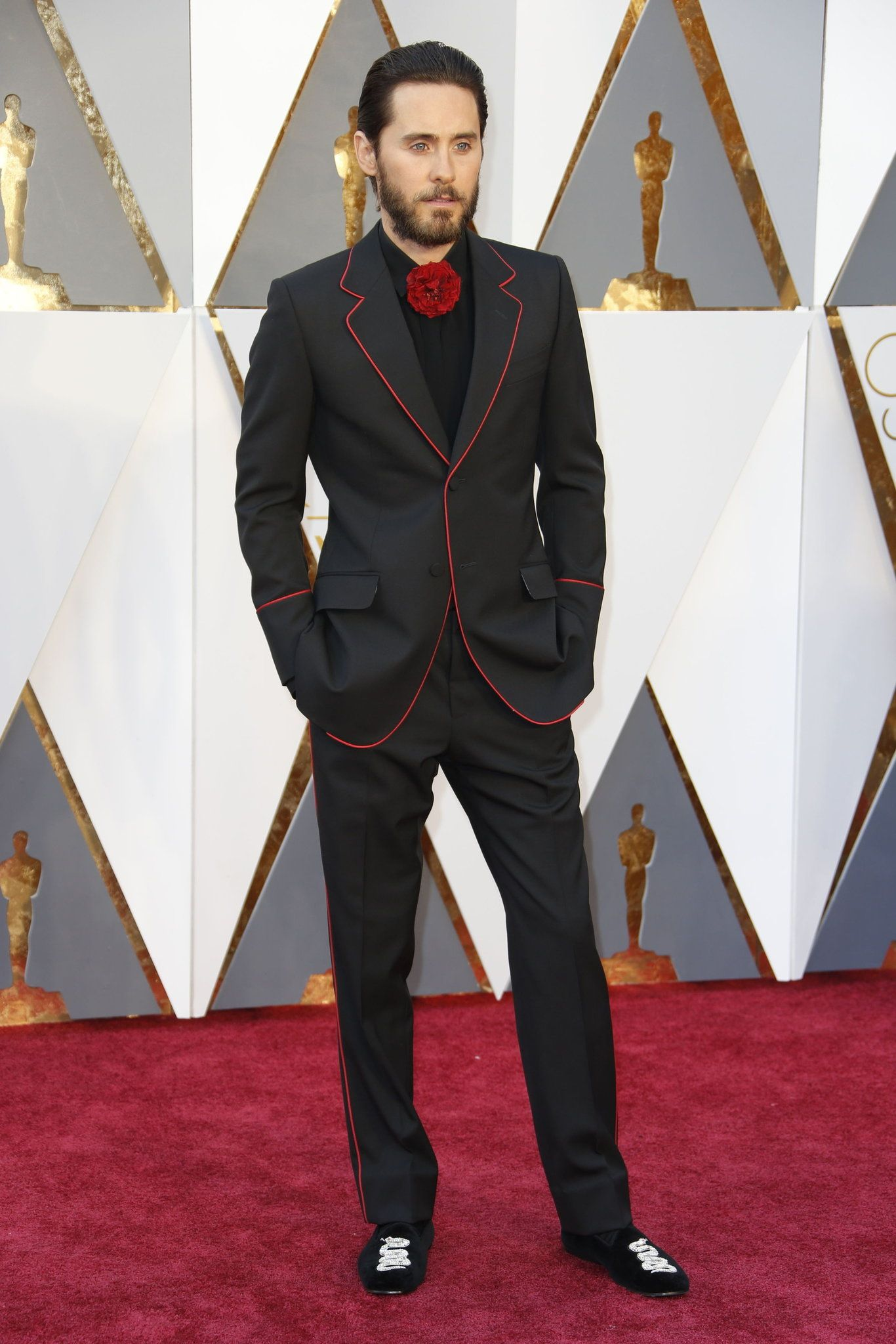 The one and only Jared Leto lookin so nice in his black ...