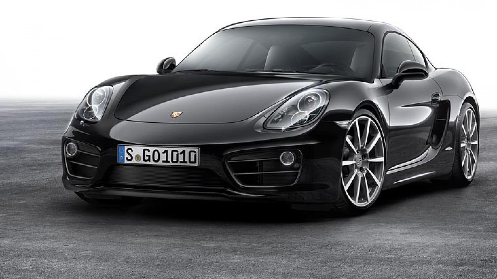 Novità auto: Porsche Cayman Black Edition
