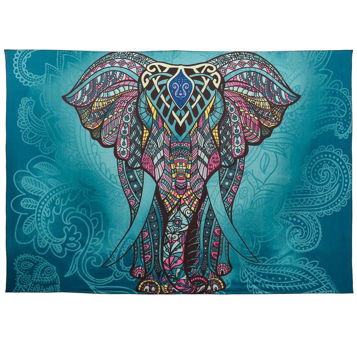 http://www.ebay.de/itm/Indisch-Mandala-Bunt-Elefant-Design ...
