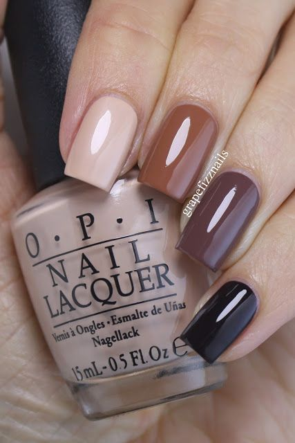 Opi Over The Taupe Taupe Nails Brown Nail Polish Nails